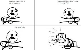 Cereal Guy Meme - cereal guy meme by mrmadscientist314 on deviantart