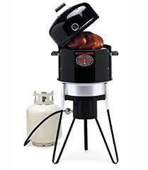 Brinkmann Backyard Kitchen Amazon Com Brinkmann 810 5000 P All In One Outdoor Cooking