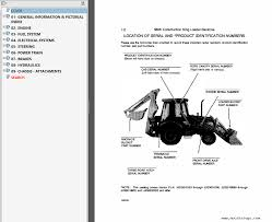 case 580k phase 3 backhoe loader service manual u0026 parts catalog