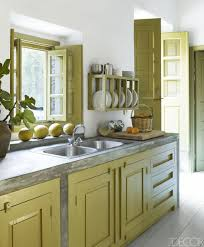 kitchen green kitchen cabinets and gray kitchen table plus