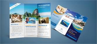 zoo brochure template sle travel brochure fieldstation co