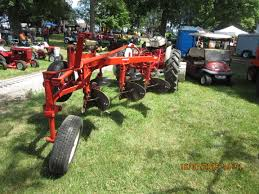 rear look of ford 3 bottom plow farm equipment pinterest
