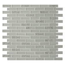 shop gbi tile u0026 stone inc 12 in x 12 in gemstone white glass