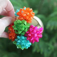 ornament gift mini gift bow ornament hometalk