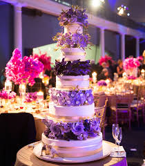 white gold and purple wedding wedding cake ideas nontraditional wedding cake decorations and