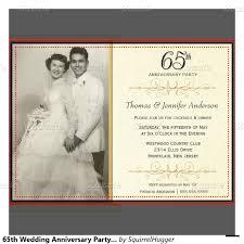 65th wedding anniversary invitations google search invitations