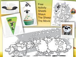free activity sheets shaun sheep movie u0026 big hero 6