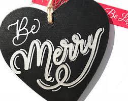 chalkboard ornaments etsy