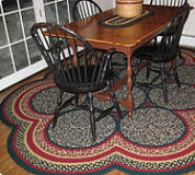 braided rug 26 x 40 oval wool braided rug country braid house