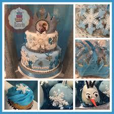 frozen mini cupcakes galletas de corona y copo de nieve pop