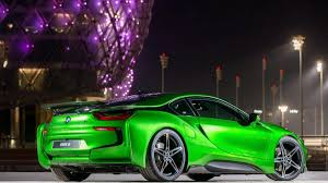 bmw i8 colors abu dhabi in lava paint
