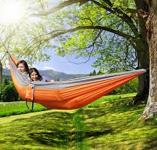amazon highly rated ohuhu double camping hammock only 19 99