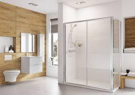 haven 1400mm sliding shower door h3s14cs
