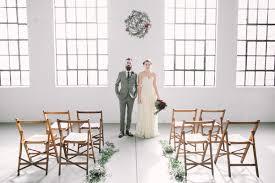 wedding backdrop calgary modern industrial wedding editorial ruffled