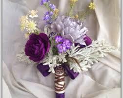 purple bouquets purple bouquet etsy