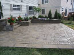 Patio Paver Patterns by Paver Designs For Backyard Paver Patio Designs Create A Beautiful