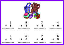 grade 2 addition math worksheets second grade free dynamic math
