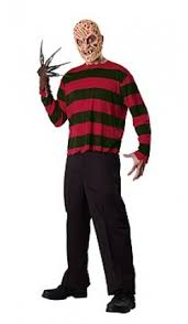 Freddy Halloween Costumes Déguisement Freddy Krueger Adulte Manoirs