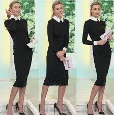 women 2017 spring new arrivals fashion long sleeve pencil dress