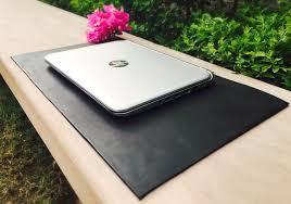 100 leather vintage black desk mat desk pad standing desk