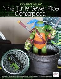 teenage mutant ninja turtles sewer pipe manhole cover