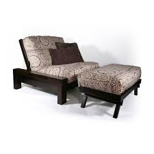 strata furniture carriage rockwell chair and ottoman futon frame
