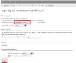 cara membuat database dengan mysql front cara upload mysql database rumahweb s news article and tutorial