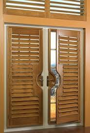 Bypass Shutters For Patio Doors Bypass Shutters Are A Great Option For A Patio Door Covering And