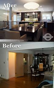 Open Floor Plan Ranch Style Homes The Basement Stairs Used To Block The Kitchen From The Rest Of The