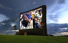 inflatable outdoor screens alltec screens