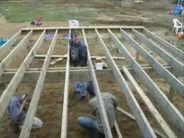 How To Make A Wooden Patio Timelapse Building A Deck Patio Youtube
