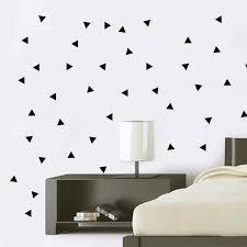 Kids Room Wall Stickers by Aliexpress Com Buy Ins Polka Triangle Wall Sticker Baby Nursery