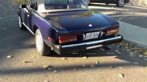 fiat spider 1981 my 1980 fiat spider 2000 youtube