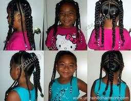 beaded braid hairstyles unique african american little girl braid hairstyles toddler girl