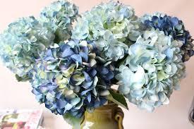Faux Flowers Online Shop Noble Artificial Hydrangea Silk Flower Wedding Party