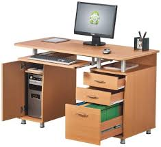 Computer Desk With Filing Drawer Computer Desk With Drawers On Computer Desk With 3 Drawer