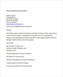 Beginner Resume Examples by Generic Resume Template 28 Free Word Pdf Documents Download