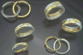 gimmel ring gimmel rings gold silver platinum gimmel rings engraved rings