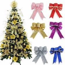 2015 merry theme bow shape flannel tree