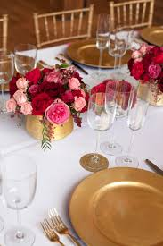 pink red gold wedding table ideas 2 elizabeth anne designs the