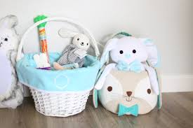 easter bunny baskets easter baskets for baby toddler co