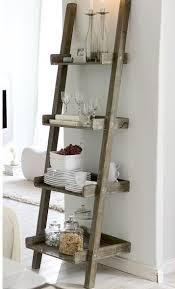 Bathroom Ladder Shelves Best 25 Ladder Shelves Ideas On Pinterest Bathroom Shelf Rustic