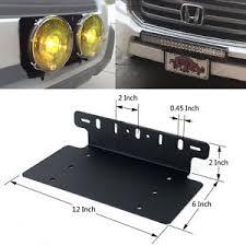 installing led lights in car car van front license plate installation led lights bracket support