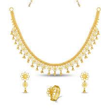 necklace set image images Gold necklace set fancy necklace jpg