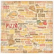 12x12 Scrapbook Pizza Party 12x12 Scrapbook Paper Flair Designs