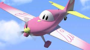 airplane cartoon kids airport diary friend