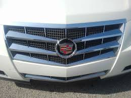 2011 cadillac cts grille cadillac cts chrome grille insert overlay trim