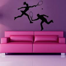 28 personalized wall murals aliexpress com buy elegant personalized wall murals tennis personalized name vinyl wall decor wall sticker art
