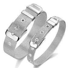 bracelet mesh silver sterling images Classic sterling silver mesh bracelet azurecasa jpg