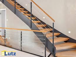 handlauf treppe treppen und handläufe aus holz fertigt lutz auf maß lutz